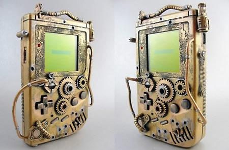 Custom Steampunk Game Boy