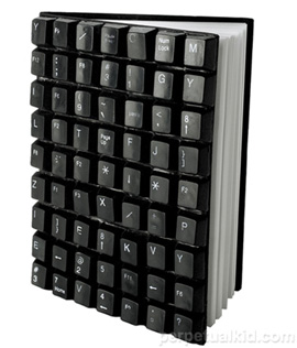 Recycled Keyboard Journal