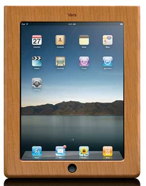 Wood Apple iPad Case