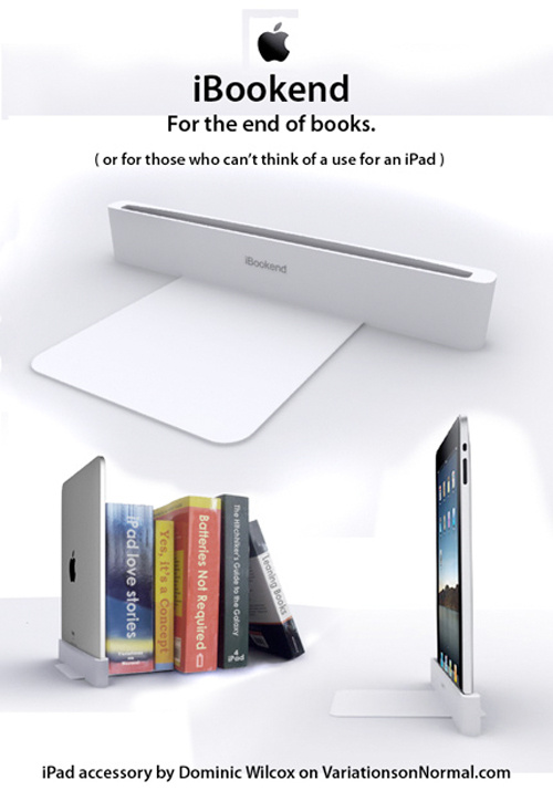 iBookend apple ipad