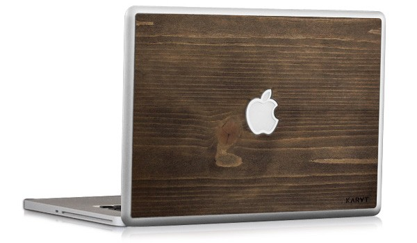 KARVT wooden MacBook skins