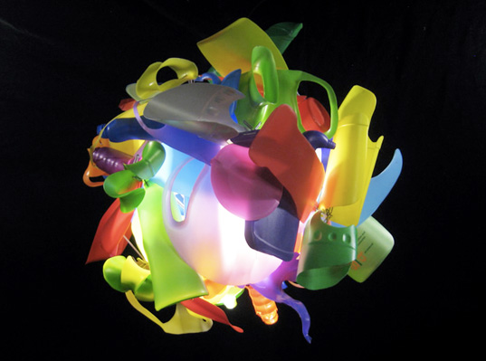 Multicolored Chandelier