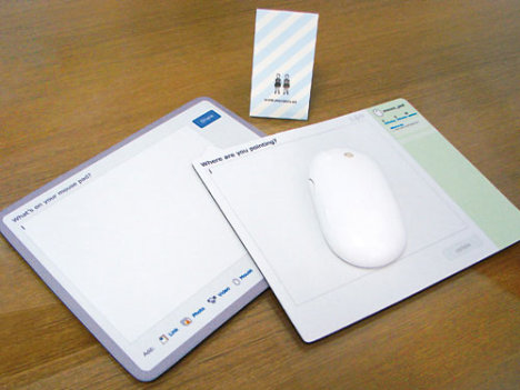Social Networking Mouse Pad